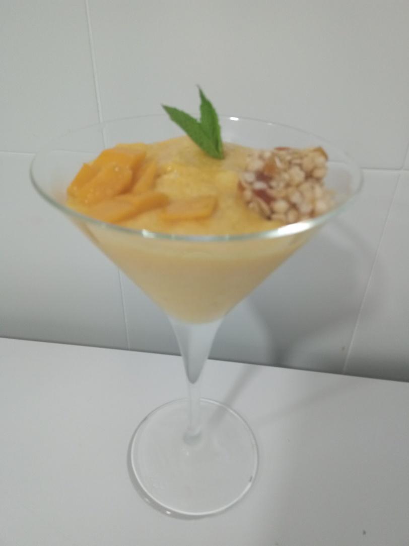 Copa mus de mango